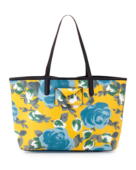 ac69566066a9 MARC by Marc Jacobs Metropolitote Floral-Print Tote Bag