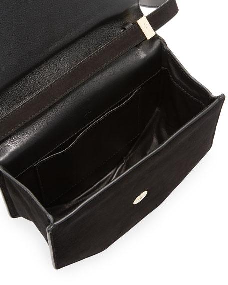 Amor Fati Painted Leather Satchel Bag