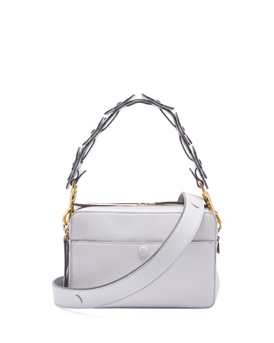 The Stack Crossbody Circulus Bag, Gray