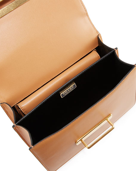 5ca57d4cb0b3 Prada Embroidered Cahier Bag
