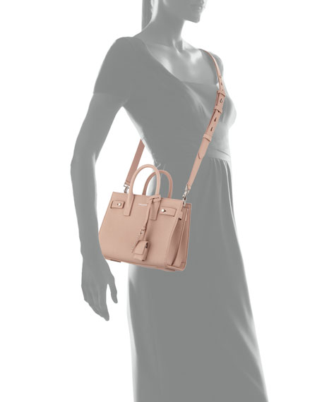Nano Carryall Leather Tote Bag