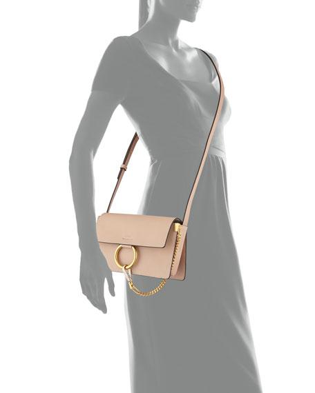 Faye Small Leather Shoulder Bag