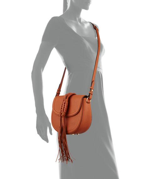 Ghianda Woven Knot Saddle Bag