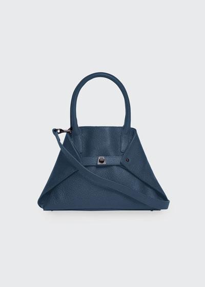 Ai Little Cervo Calf Leather Top-Handle Bag