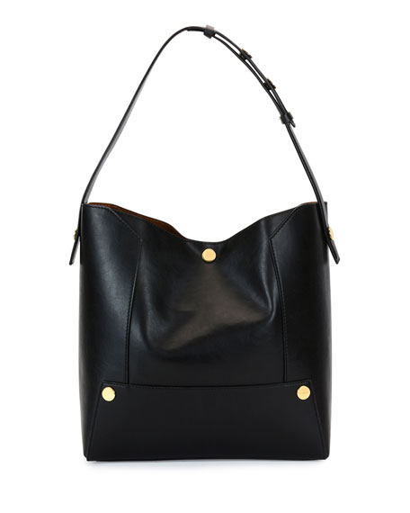 Stella McCartney Alter Textured Eco Faux-Napa Shoulder Bag,