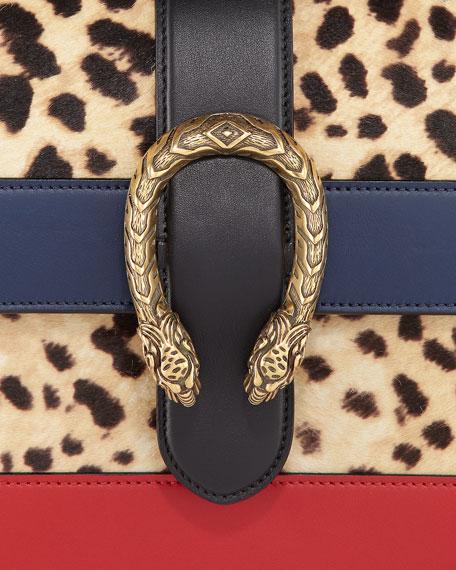 Dionysus Calf Hair Satchel Bag, Multi Pattern