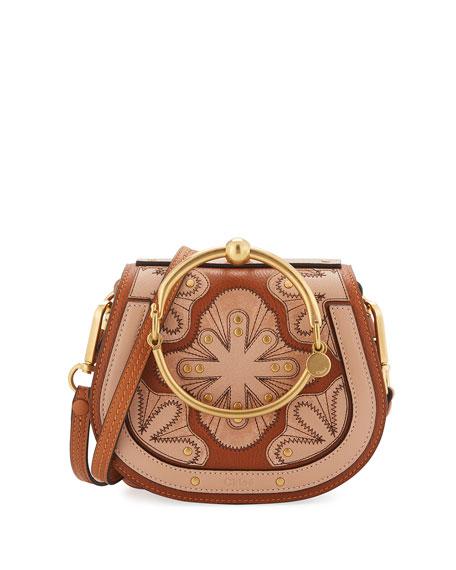 83599f8a44 Nile Small Floral Patchwork Bracelet Bag