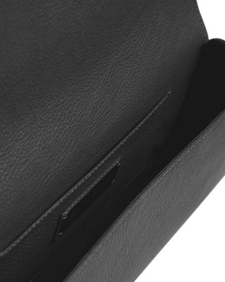 Le Cabriolet Calf Leather Clutch Bag
