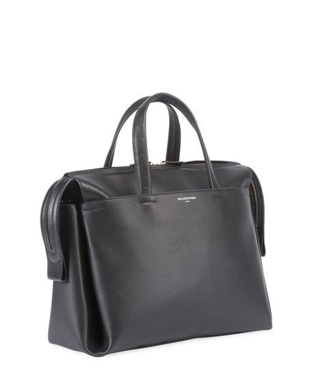 Portfolio Sac Leather Top Handle Bag