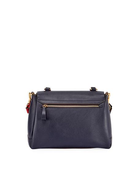 Bathurst Small Satchel II Circle Bag, Blue