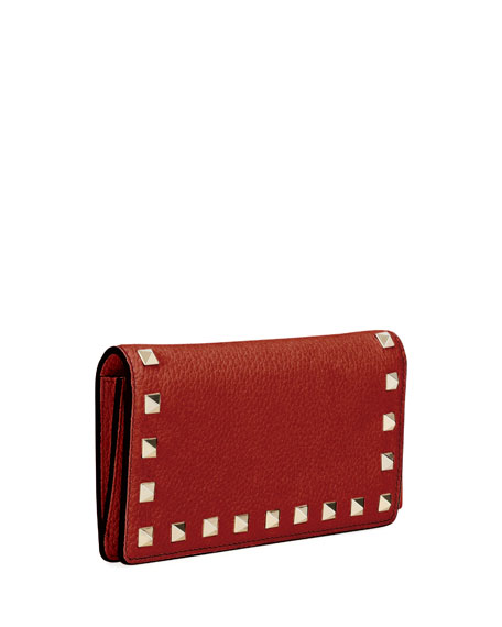 Rockstud Vitello Continental Wallet