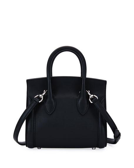 Heroine 21 Mini Satchel Bag, Black