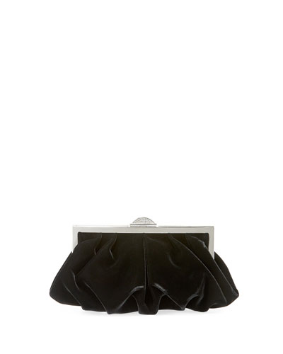 Natalie Velvet Evening Clutch Bag