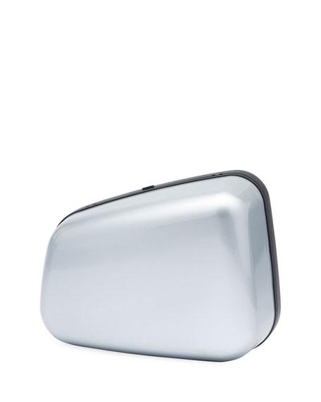 Case Retroviseur Metal Clutch Bag