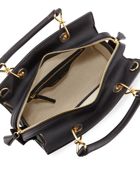 Infinity Small Quilted Leather Tote Bag