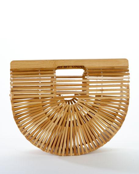 Gaia's Ark Large Bamboo Clutch Bag