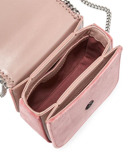 Mini Falabella Box Velvet Chain Shoulder Bag