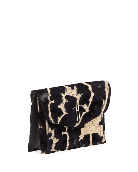 Bobby Velvet Brocade Clutch Bag