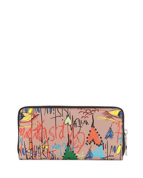 Panettone Graffiti Leather Wallet