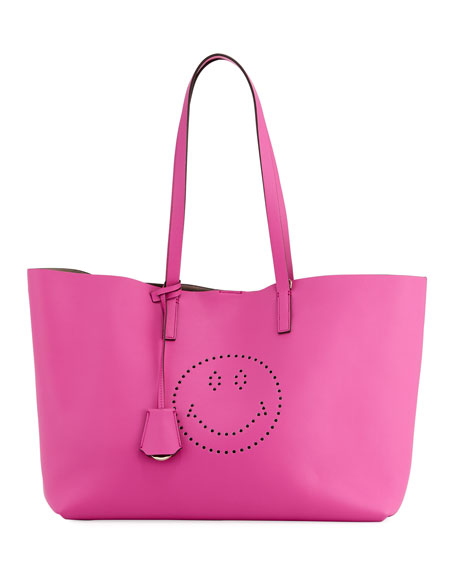Ebury Shopper Smiley Tote Bag