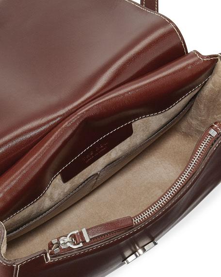 Hunting 9 Vegetable-Dyed Leather Shoulder Bag