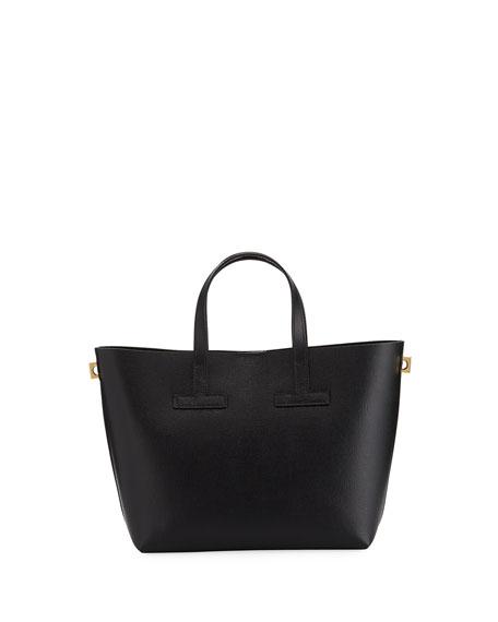 T Tote Crossbody Mini Saffiano Bag