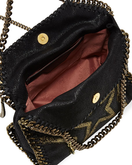 Shaggy Gradient Star Mini Falabella Tote Bag