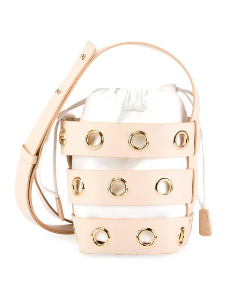 Caged Mini Hobo Bag