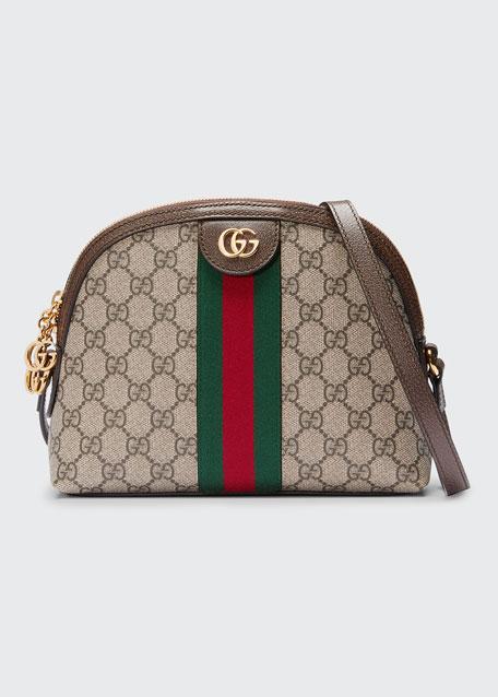 Linea Dragoni GG Supreme Canvas Small Shoulder Bag