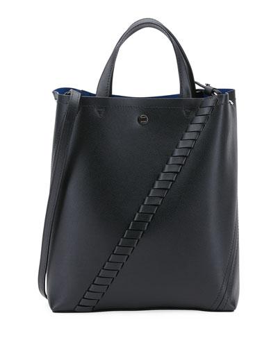 Hex Mini Leather Tote Bag