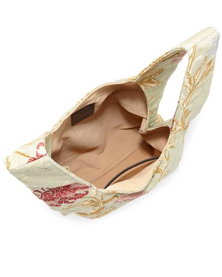 Venetian Jacquard Shopper Tote Bag