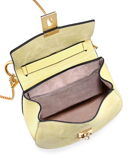 Drew Mini Leather Saddle Bag