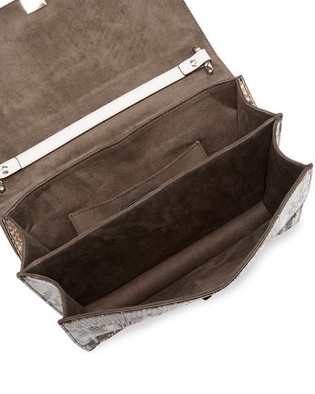 Kan I Python Chain Shoulder Bag