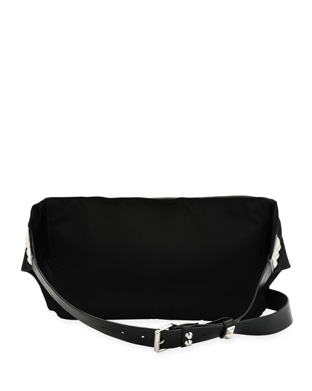 Vela Nylon Square Belt Bag