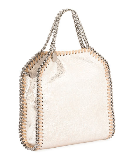 Mini Falabella Metallic Chain Tote Bag