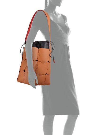 Elements Patchwork Medium Hobo Bag