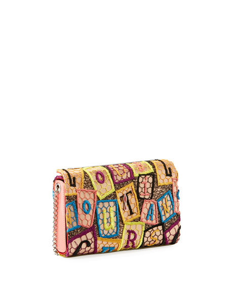 Vanite Small Dentelle AlphaLoubi Clutch Bag