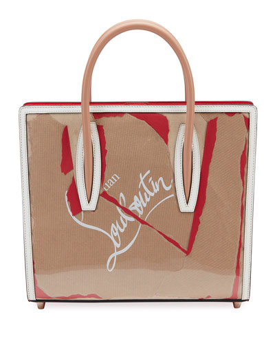 Paloma Medium Kraft Loubi Tote Bag