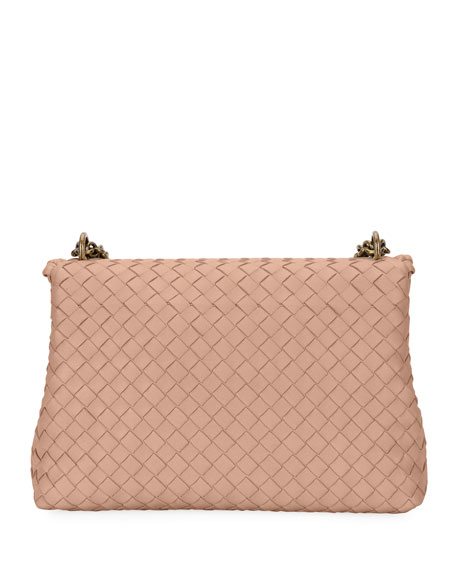 Intrecciato Double Chain Shoulder Bag