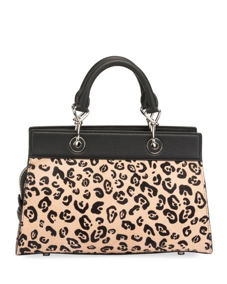 Altuzarra Shadow Small Leopard-Print Tote Bag