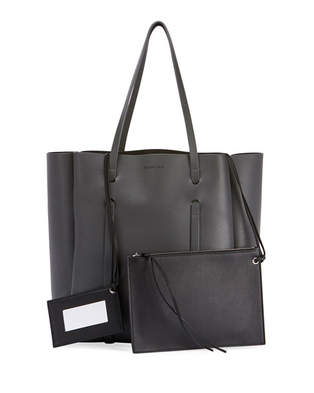 Image 1 of 1: Everyday Small Leather Tote Bag