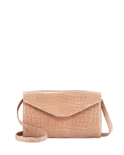 Amour Small Crocodile Crossbody Bag