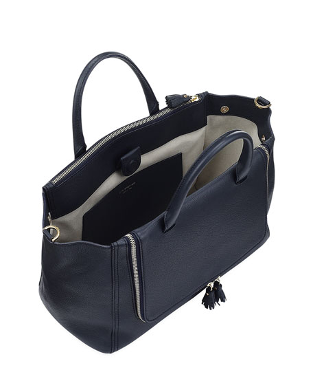 Vere Soft Mini Grain Tote Bag