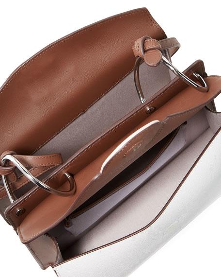 Phoebe Colorblock Leather Shoulder Bag
