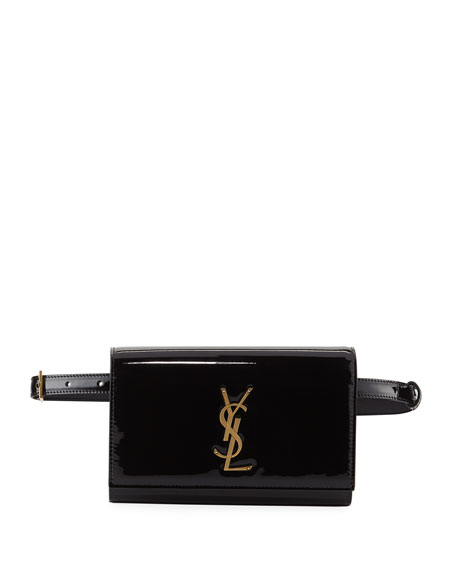 ce8c2a5b28 Kate Monogram YSL Patent Leather Belt Bag