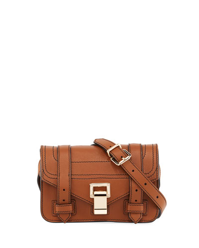 PS1+ Mini Soft Grainy Leather Crossbody Bag