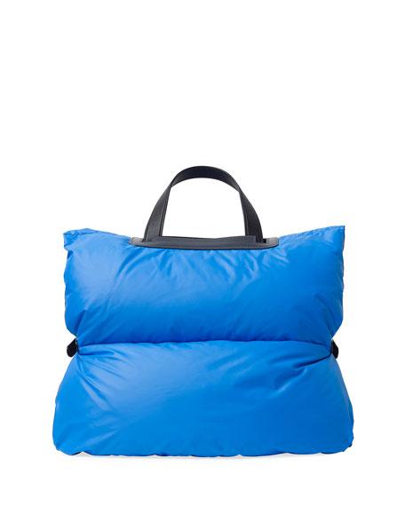 Valextra Iside Handbag Puffer Coat
