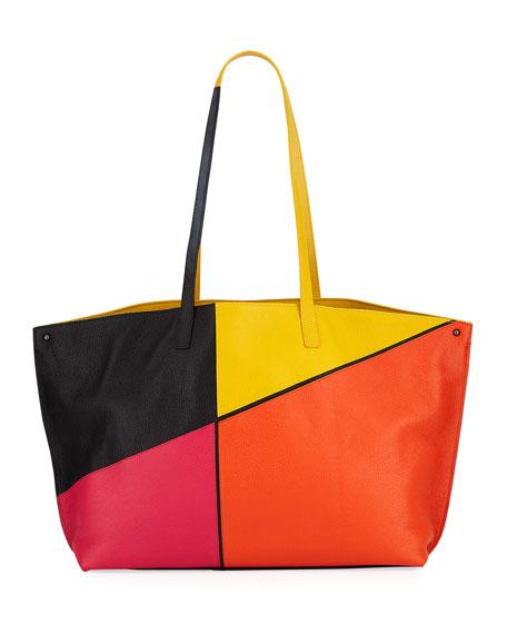 257901804cd4 Akris Ai Medium Sunrise Patchwork Shoulder Bag