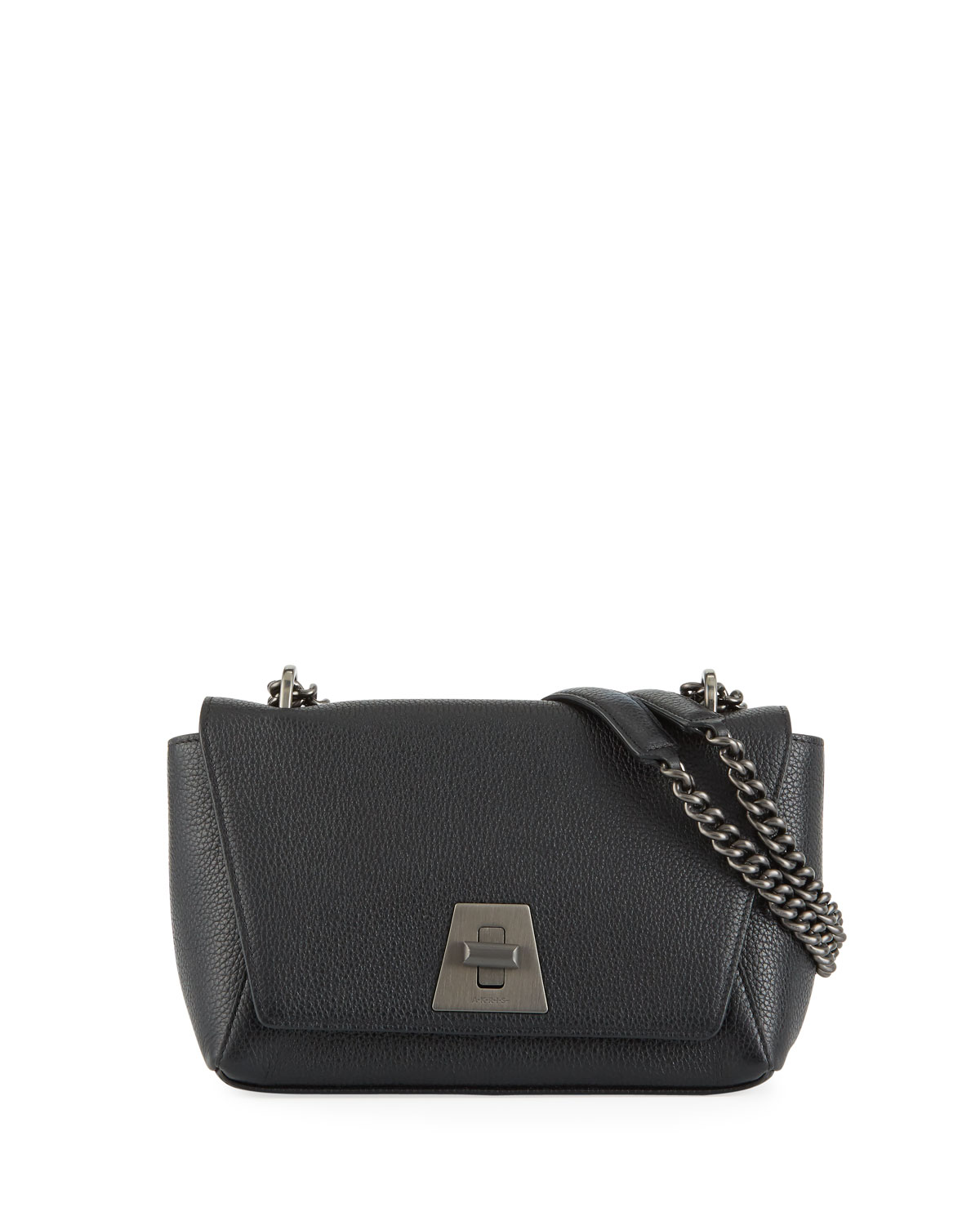 Anouk Day Small Cervo Calf Shoulder Bag by Akris