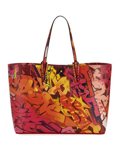Cabata Calf Paris Metro Graf Tote Bag